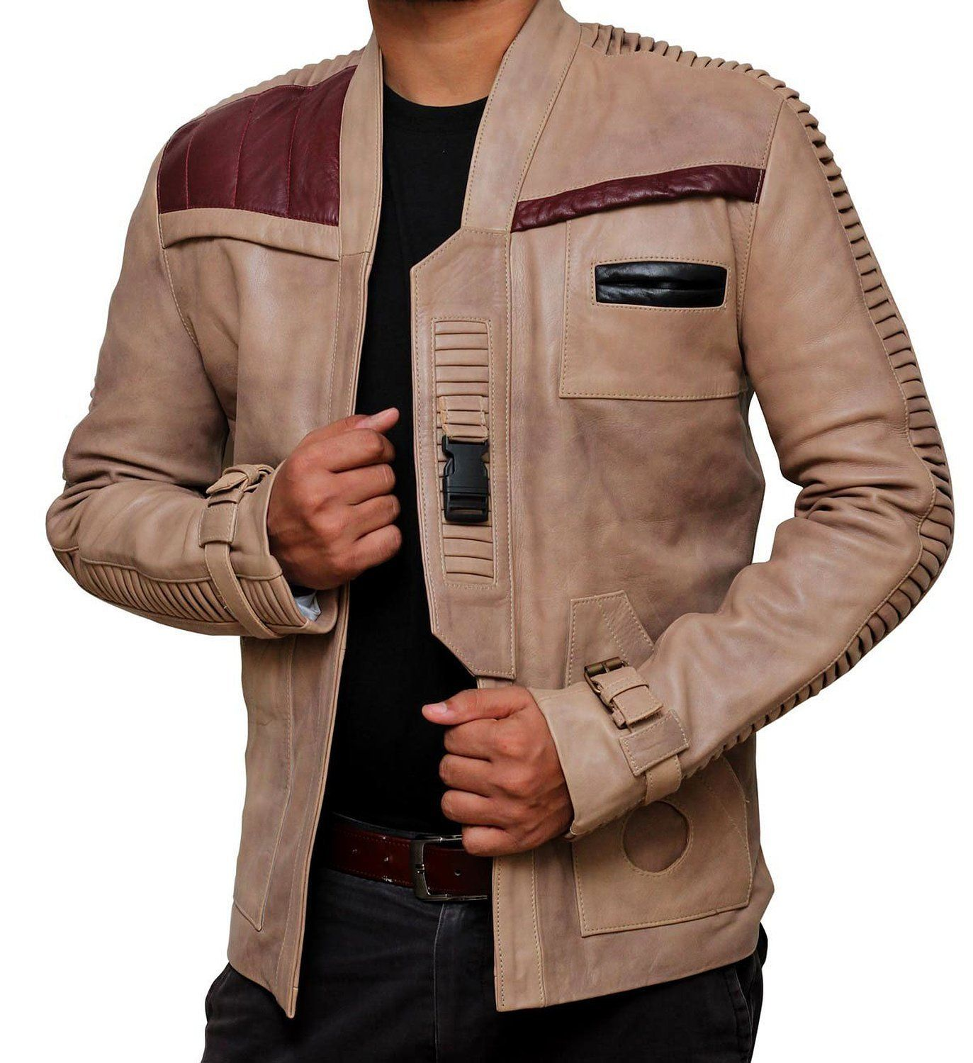 A Pilot S Jacket Handed From Poe Dameron To Finn To You Leather Jacket Men Leather Jacket Mens Jackets