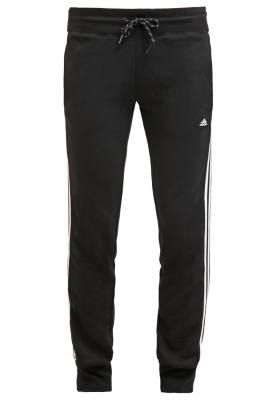 8d6ead37c3d91 Adidas Performance Essentials Pantalon De Deporte Black White El Estilo  Perfecto Para Triunfar En El Gimnasio Es hora de hacer ejercicio y no hay  mejor ...