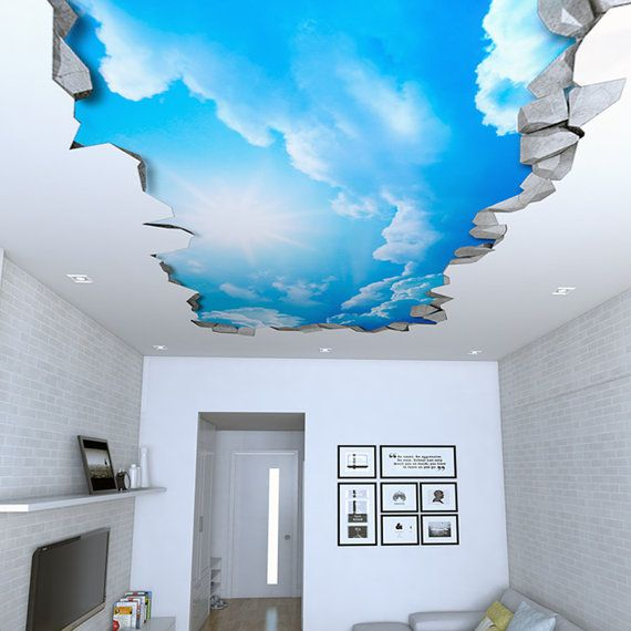 Ceiling Decal Decor