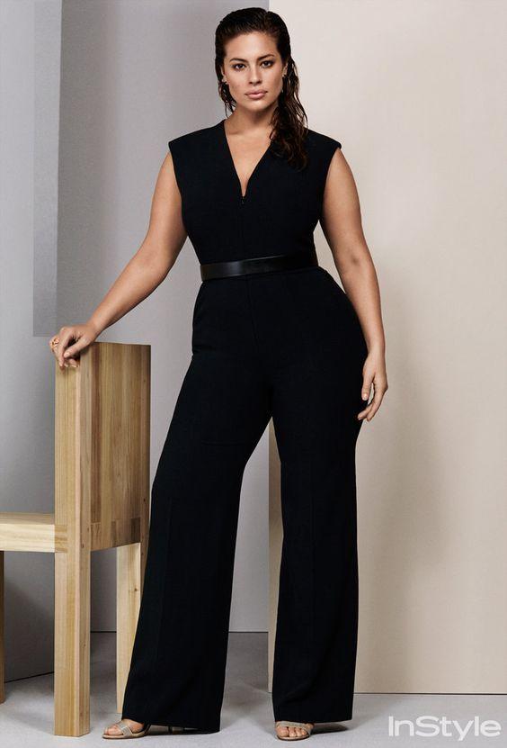 a52ff9ca5 A modelo plus size Ashley Graham em editorial para a revista americana  Instyle