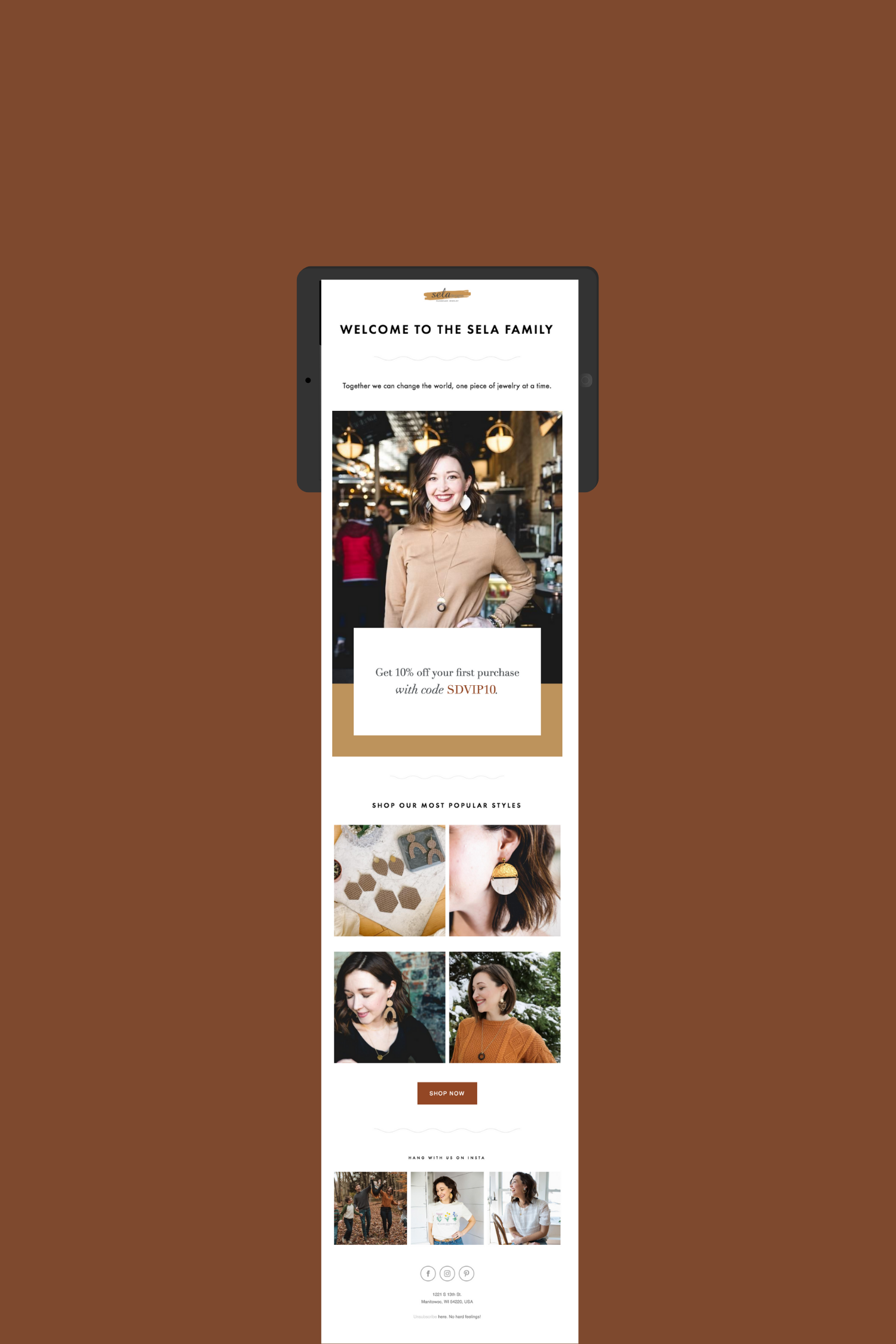 Welcome Sequence Email In 2020 Creative Jewelry Branding Design
