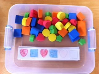 More Than ABC's and 123's: Busy Boxes - patterning