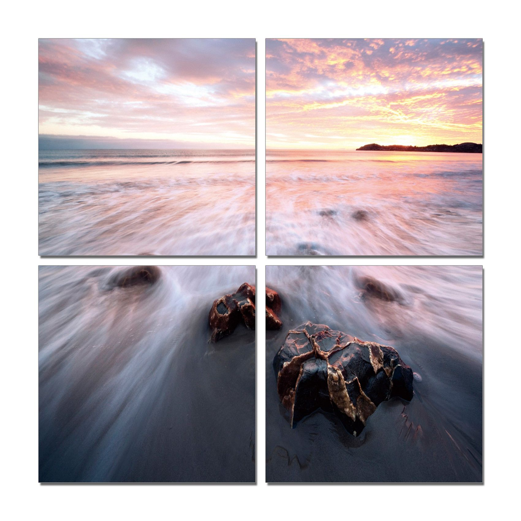 Tides | To be, Vinyls and Home - The tides roll in and out, endlessly. Let this beautifully captured time  lapsed photo