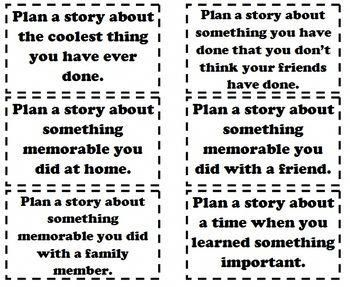 Writer's Workshop Survival Guide K-3, small moment prompts