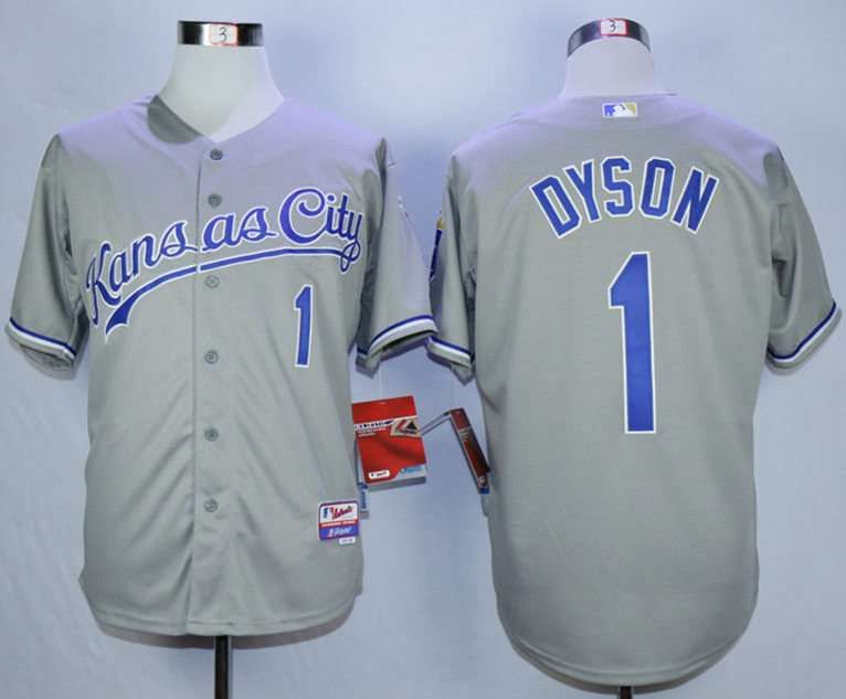 fe001adb4 royals 1 jarrod dyson light blue cool base stitched youth mlb jersey