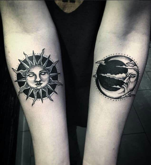 Moon/sun | Tattoo research | Pinterest | Moon, Tattoo and Tatting