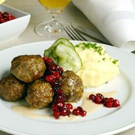 Restaurant Aquavit New York S Swedish Meatballs Scandinavian Cuisine Swedish Meatballs Food