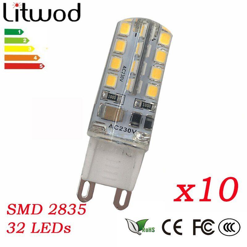Present Z30 10pcs 32 Leds 5w 2835smd Led G9 Led Lamp Light Ac 110v 220v 230v 240v Replace 80w Halogen Lamp 360 Beam Angle Led Halogen Lamp Led Bulb G9 Led
