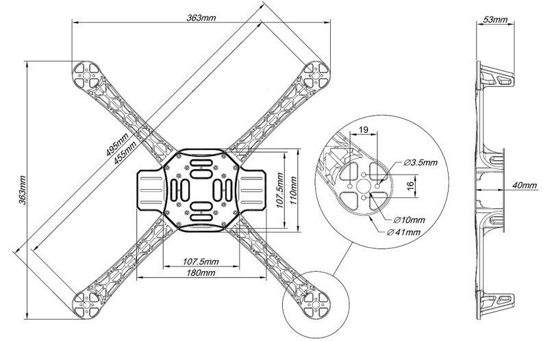 Quadcopter Flame Wheel 450 Wiring Diagram