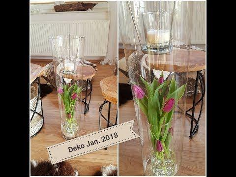 Xmas Raus Meine Wohnzimmer Deko Januar 2018 Dekoration Im Glas Mit