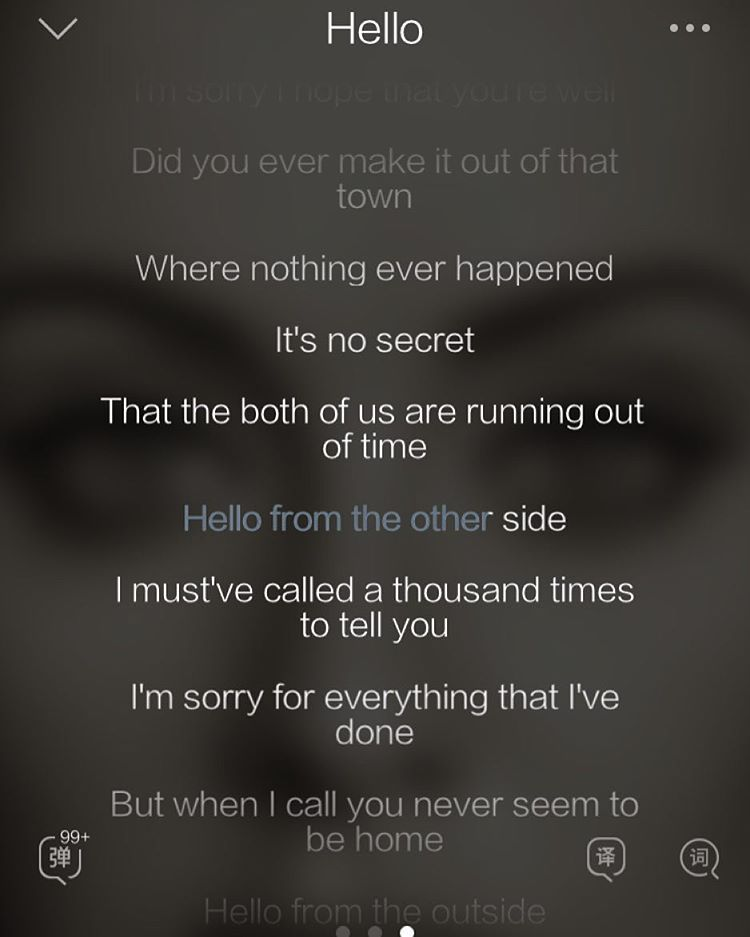 Adele Hello - This song could not be more spot on or come at a ...