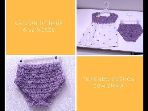 Youtube Pañales Bebe Vestidos Para Bebés Croche Paso A Paso
