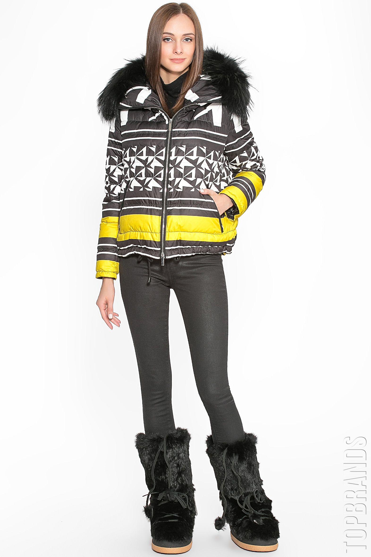 0bf1a194f6c Пуховик с мехом лисы Flo   Clo 174184 за 62800 руб. Интернет магазин  брендовой одежды