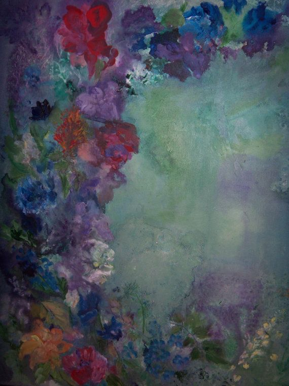 Original Contemporary Surreal Floral Artwork by sherischart, $198.99
