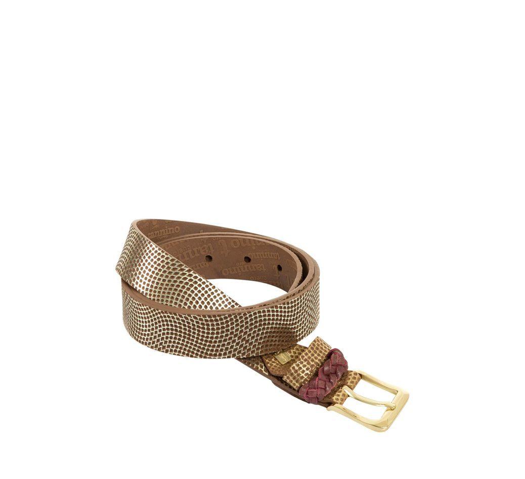 007b1dd6e7604 Cinturón unifaz de cuero para mujer 7799