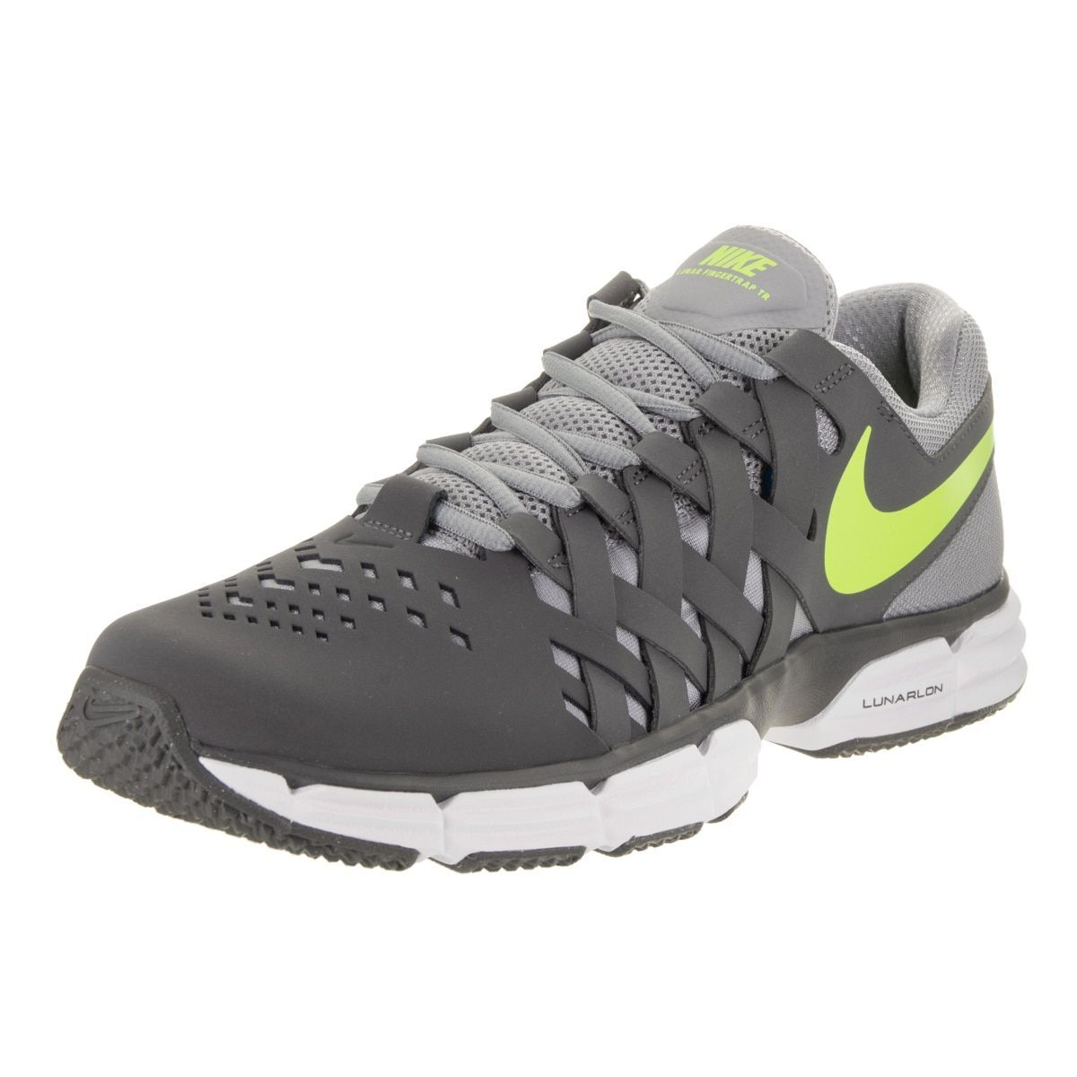 ee2fe462d9d00d Nike Men s Lunar Fingertrap TR Cross Trainer  There re no games with your  training schedule when you have the comfort of the Nike Lunar Fingertrap TR!