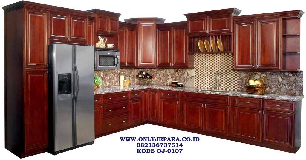 Kitchen Set Kabinet Jati Minimalis L Murah Kitchen Set L Jati