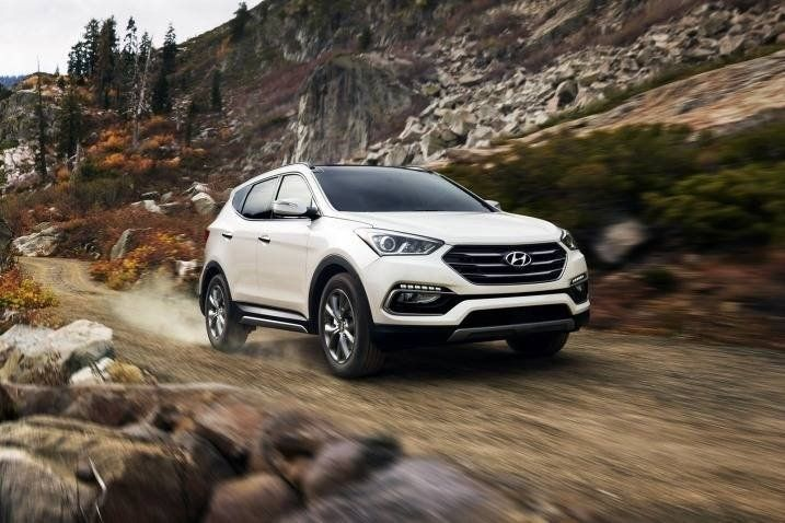 The Hyundai Santa Fe Sport Seats Five Comfortably And Has