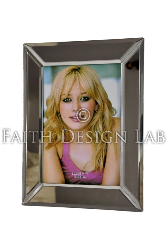 Mirror Edges Frame Personalised Photo Gifts Personalized