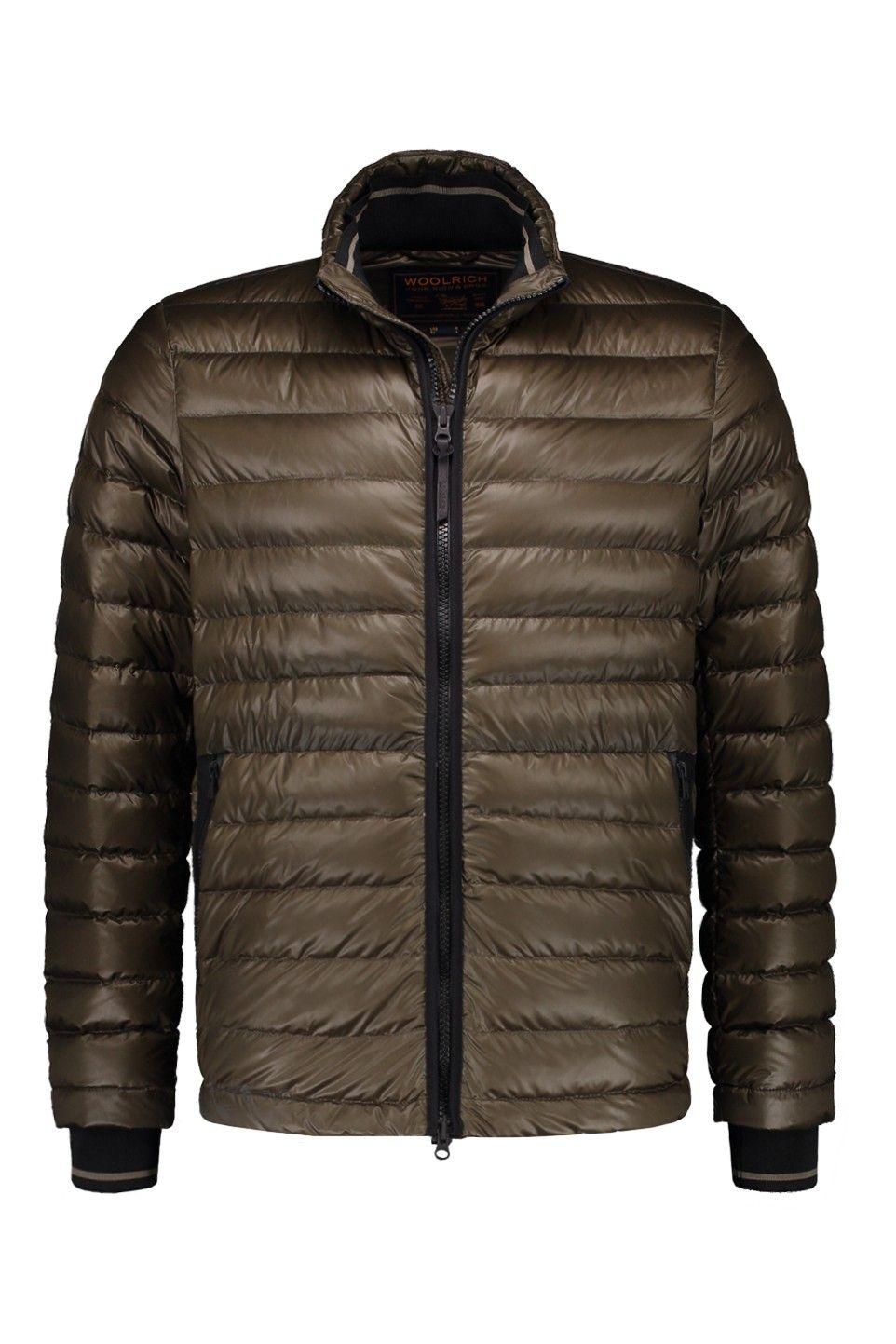 Winterjas Merken 2019.Woolrich Bering Down Jacket Marine Green Wocps2796 Ut1308 6101