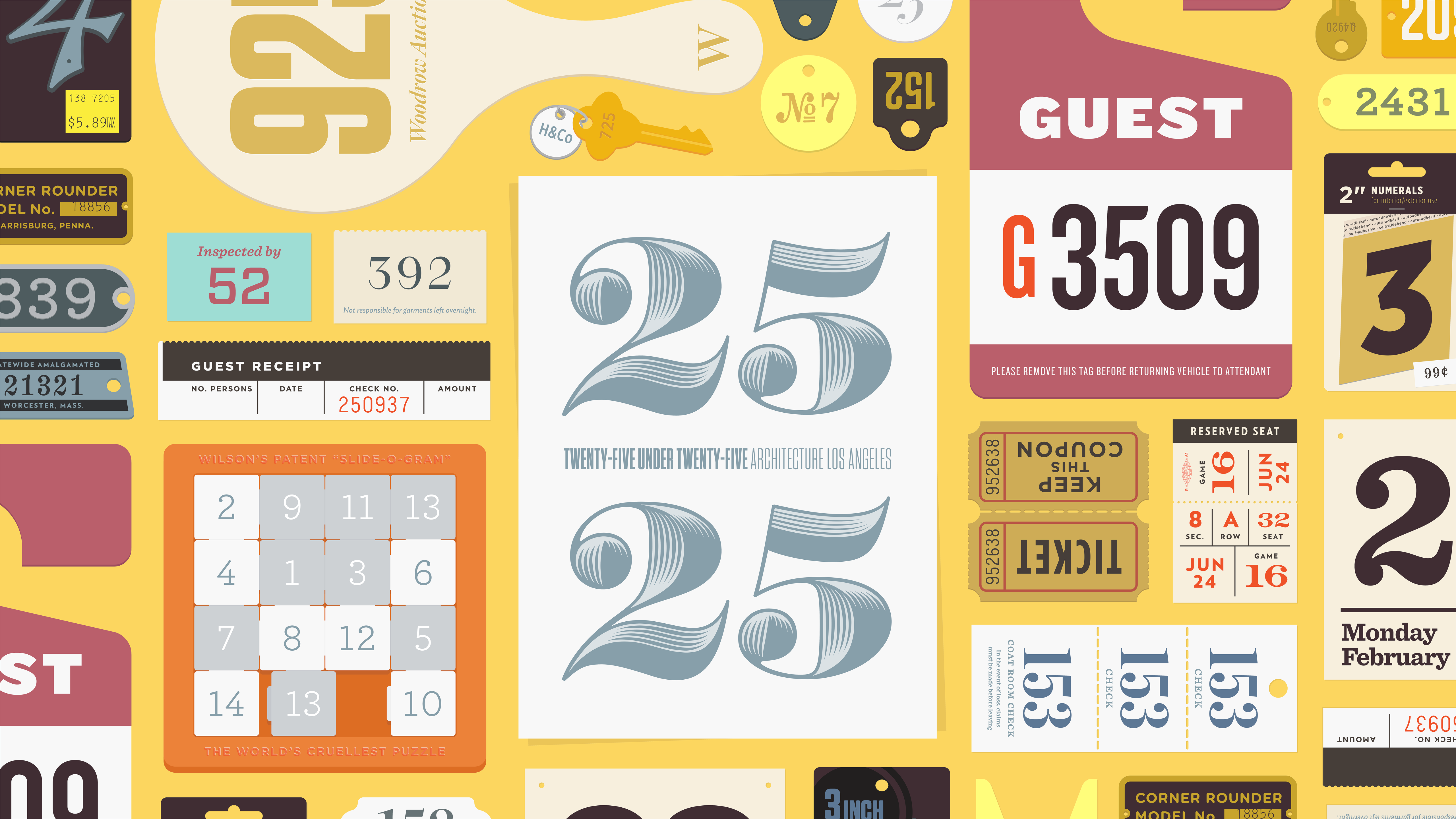 Take A Number Discover Typography By H Co Typographic Typography Lettering