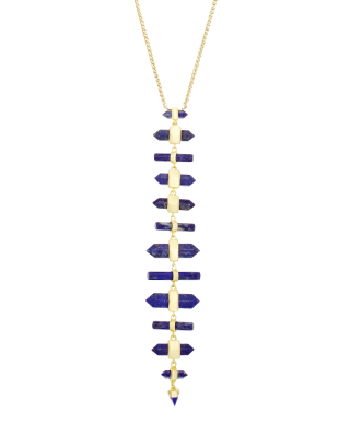 The Samantha Adjustable Necklace was designed to complement every neckline.