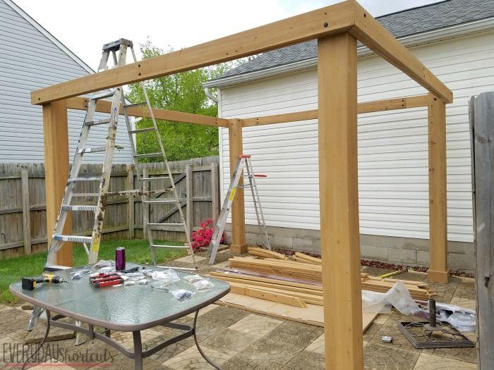 How To Build A Pavilion In A Weekend Amenagement Jardin Idees Pergola Et Decor Exterieur