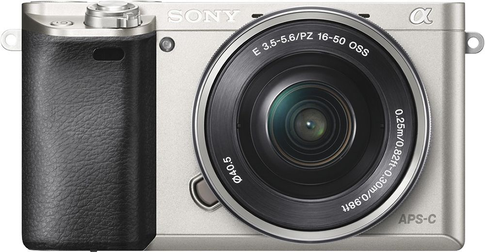 Sony Alpha A6000 Mirrorless Camera With 16 50mm Retractable Lens Silver Ilce6000l S Mirrorless Camera System Camera Best Camera