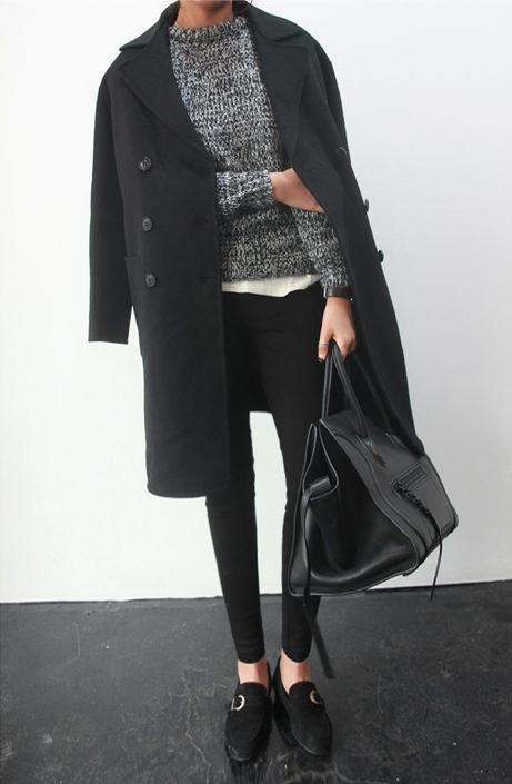 20875e3c0bf Styling Hack: Rest Your Jacket On Your Shoulders | Closetful of Clothes