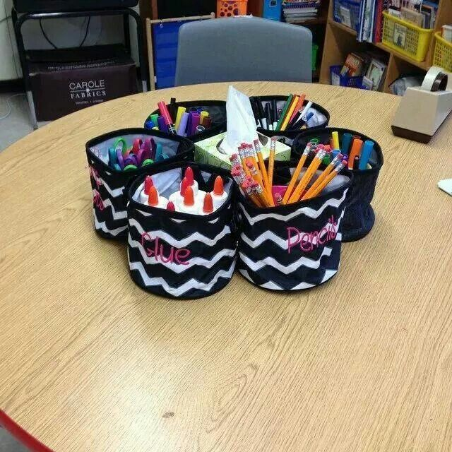 Oh Snap Bins. Great for classroom tables that offer little space ...