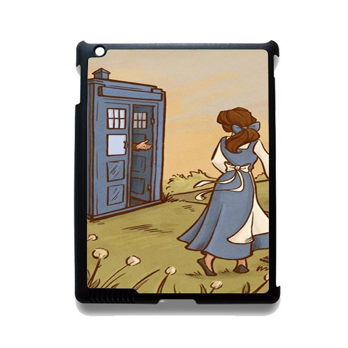 Doctor Who With Belle TATUM-3539 Apple Phonecase Cover For Ipad 2/3/4, Ipad Mini 2/3/4, Ipad Air, Ipad Air 2