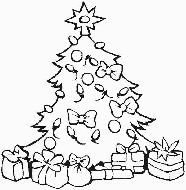 coloring pages christmas Happy Christmas Greetings 2016 - new christmas tree xmas coloring pages