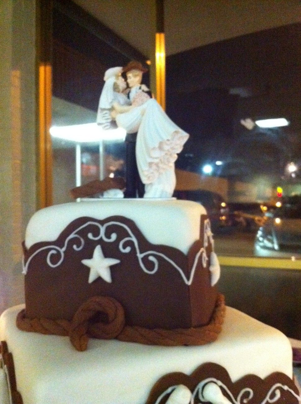 Cakes by nancy western wedding the day i say