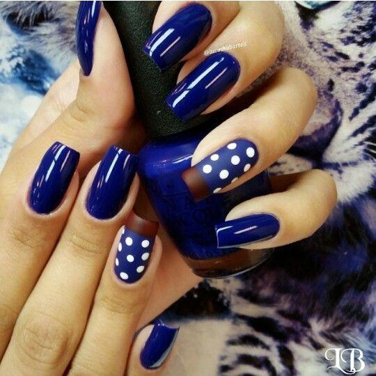 Azul +bolinhas