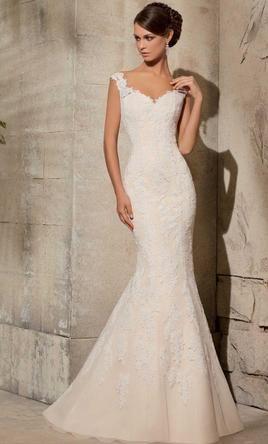 Popular Mori Lee Lace Wedding Gown by Blu by Mori Lee buy this dress