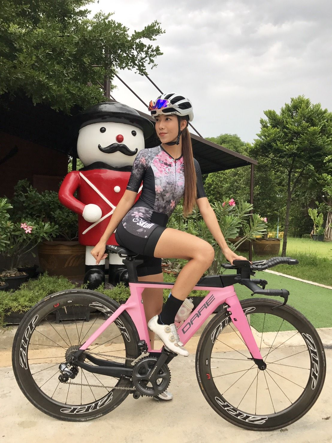 Skully Aero Suit By Skull Model Naming Thailand Cycling Girl