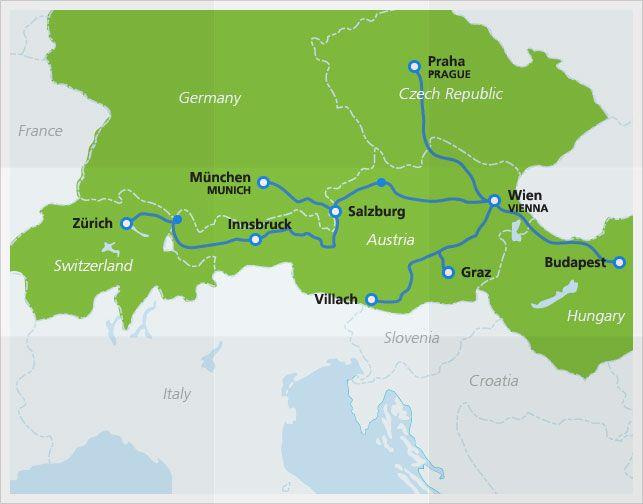 Railjet HighSpeed Trains Prague czech republic Prague czech and