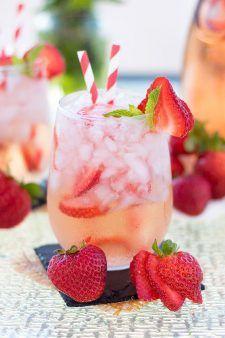 Strawberry Rosé Sangria - Jennifer Meyering