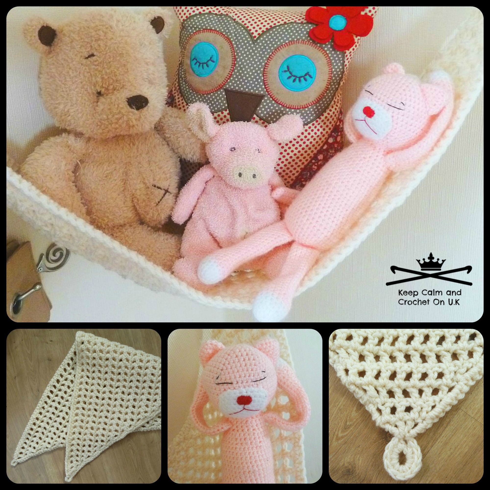 crochet toy hammock pattern by keep calm and crochet on uk crochet toy hammock pattern by keep calm and crochet on uk   soft      rh   za pinterest