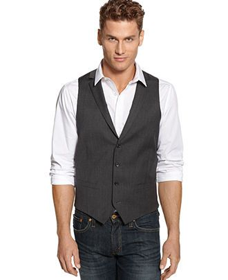 Fit Red VestGrey GuyRight You Slim Know Alfani Vest A I'm Solid IbfyYg67v