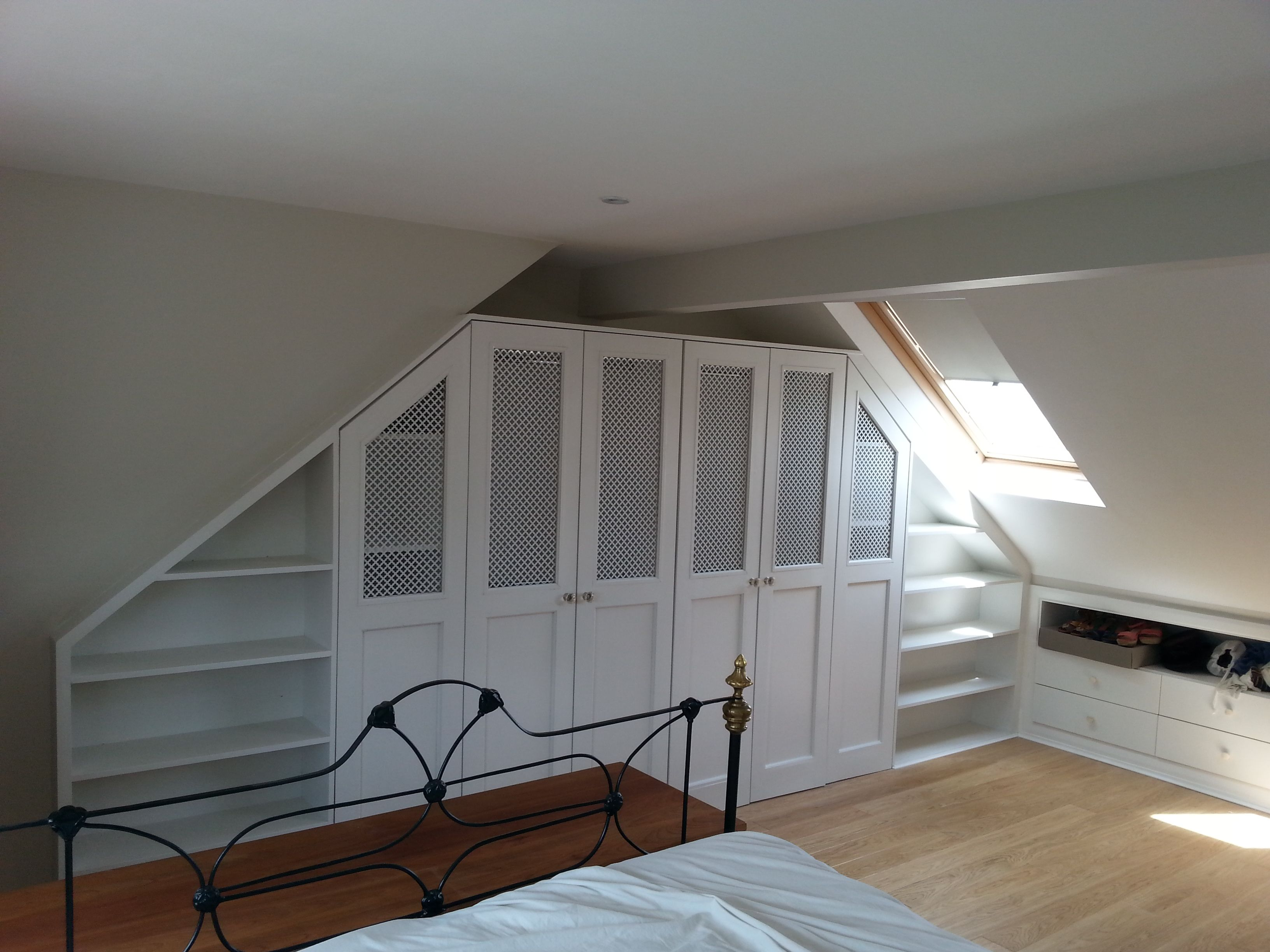 Fitted Wardrobe In Eaves Attic Rooms Home New Homes