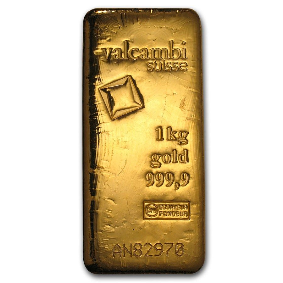 83926 2014 1000 Gram Valcambi Gold Bar With Assay Gold Bars For Sale Gold Bullion Coins Silver Bullion