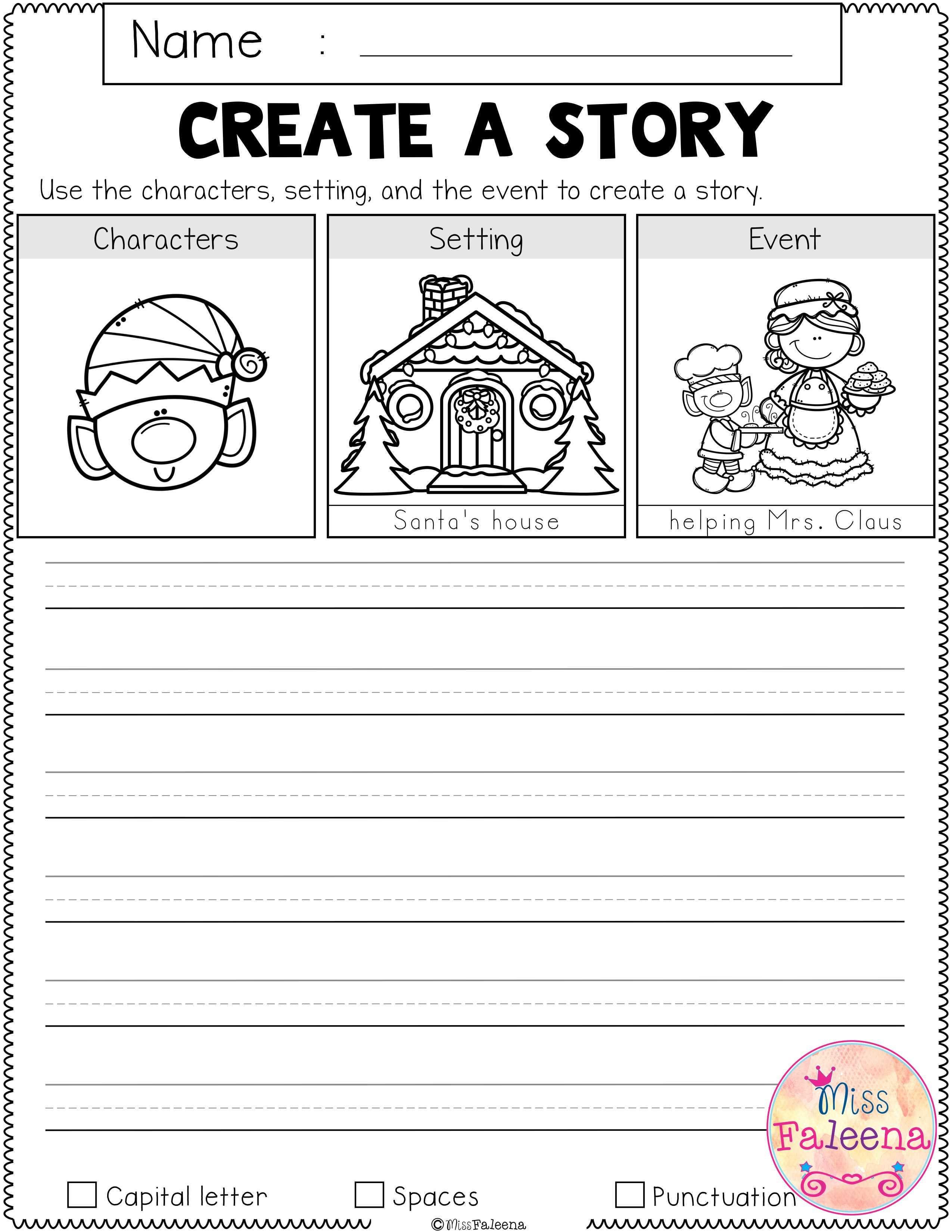 December Writing Activities