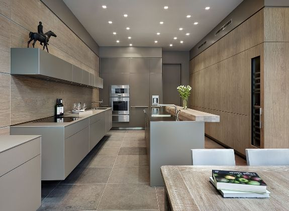 COCINAS EN COLOR GRIS - Blogs de Línea 3 Cocinas, Diseño de cocinas ...