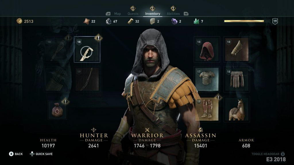 Assassin S Creed Odyssey Interview Map Size Combat Abilities