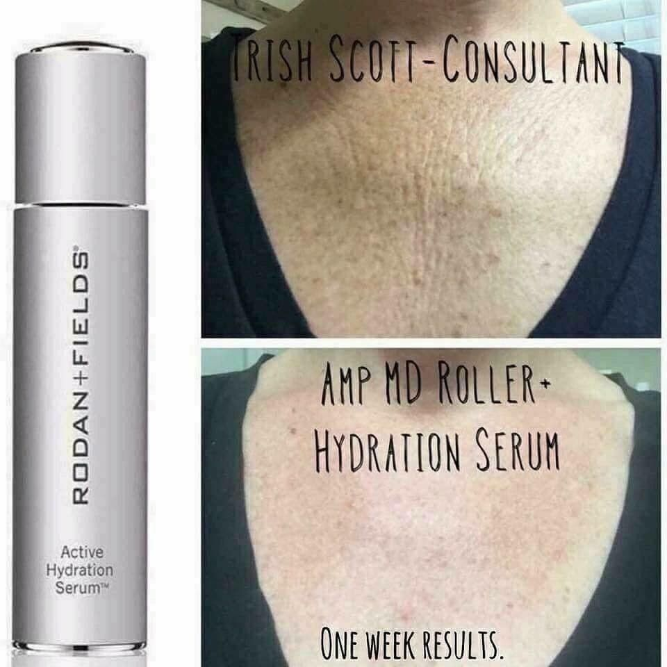9b442b0a1299  Check out these results!!!  In less than two weeks of consistent use of  R+F Active Hydration Serum
