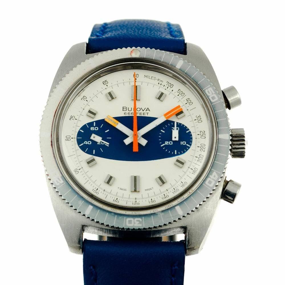 Bulova chrono from \'71 | Relojes | Pinterest | Reloj y Joya