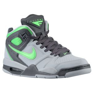 premium selection 4a461 00169 Nike Air Flight Falcon - Mens - Stadium Grey Night Stadium Poison Green