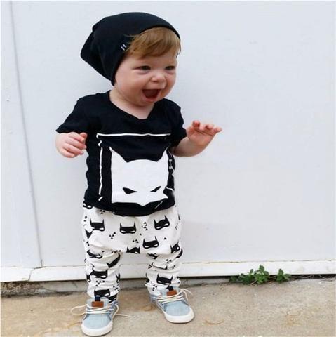 4595470531222 Ensemble bébé garçon Batman - BebeRabais