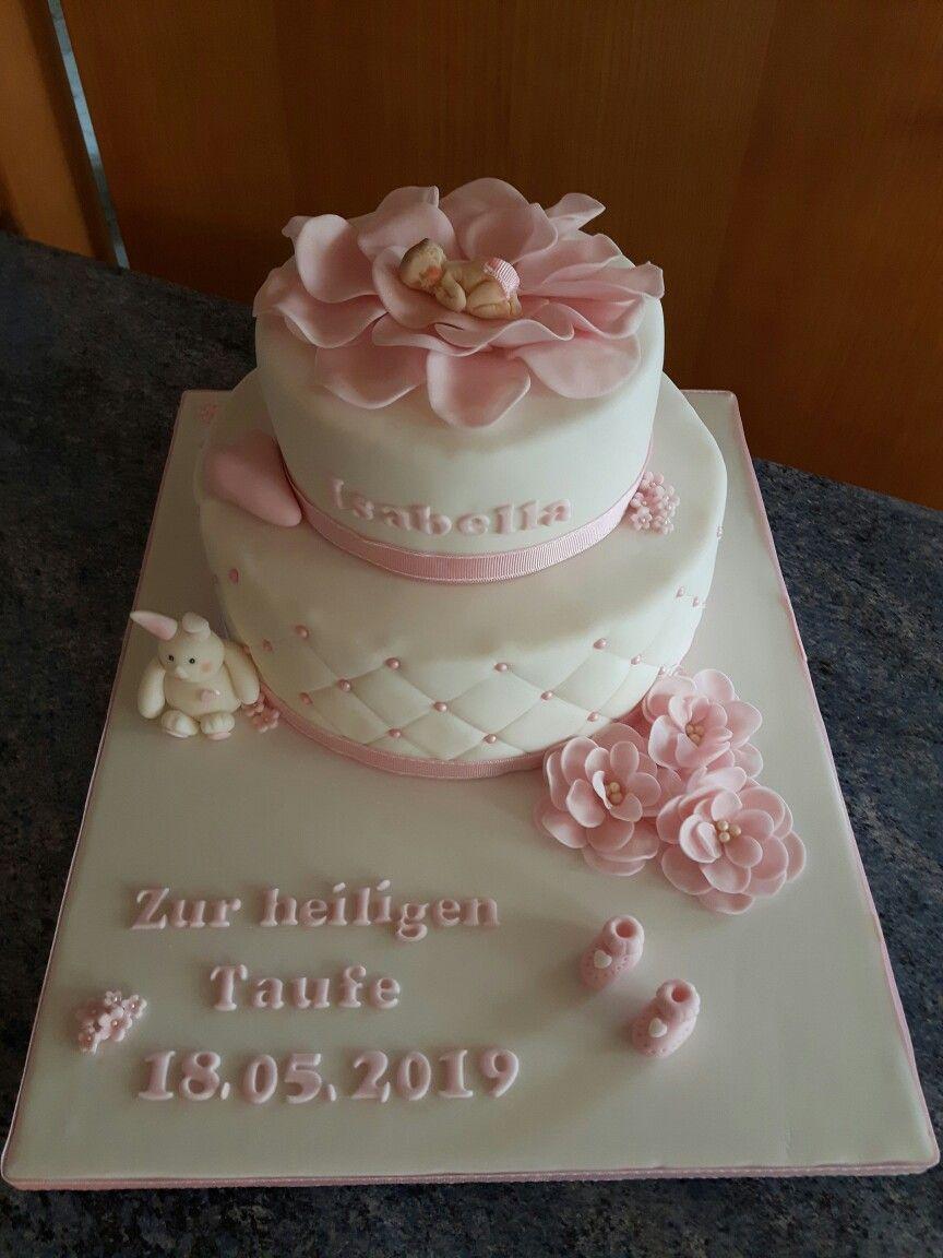 Tauftorte Madchen Taufe Kuchen Madchen Taufe Kuchen Torte Taufe